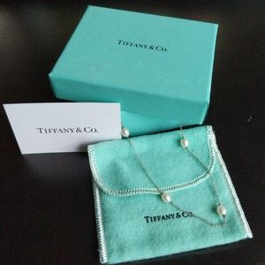 Tiffany Elsa Peretti Pearl Necklace SS
